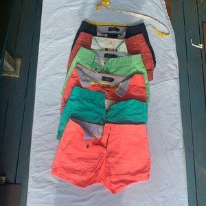 J crew shorts bundle